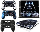 giZmoZ n gadgetZ PS4 Console DV from Starwars Skin Decal Vinal Sticker + 2 Controller Skins Set