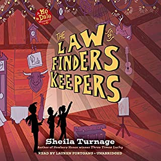 The Law of Finders Keepers audiobook cover art