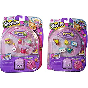Shopkins Season 5 Bundle - Two 5 Packs Varied | Shopkin.Toys - Image 1