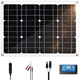 Best Battery Maintainers - Himino 30W Solar Panel Kit 30W 12V Monocrystalline Review
