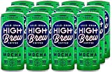 High Brew Cold Brew Coffee, Dark Chocolate Mocha, 8 Ounce Cans (Pack of 12)