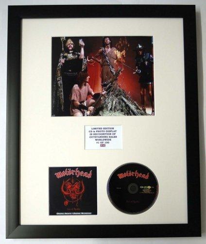 MOTORHEAD/Darstellung mit Foto und CD | Limited Edition des Albums ACE OF SPADES
