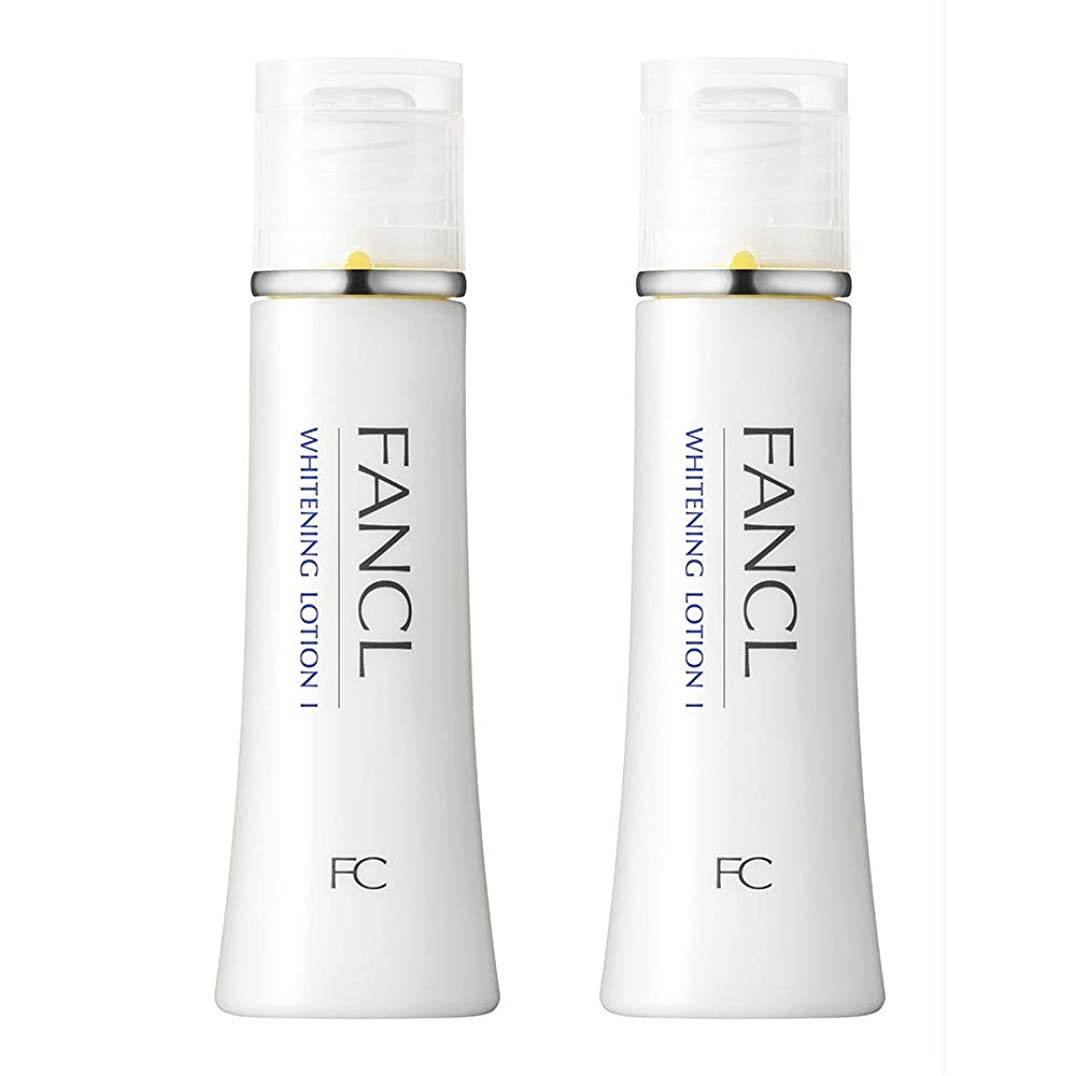 乱用ドレイン役立つファンケル(FANCL) 新ホワイトニング 化粧液 I さっぱり 2本<医薬部外品>