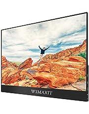 WIMAXIT 15.6インチタッチモニター モバイルディスプレイ 1080P IPSタッチパネル ダブルHDMI ノートPC/スマホ/Ra