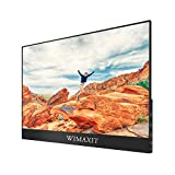 WIMAXIT External Touch Screen Monitor, 15.6 Inch Ultra Slim 1920x1080 16: 9 Screen, Type C/USB C...