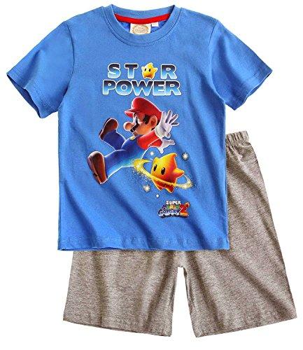 Unbekannt Super Mario Bros Shorty blau (104)