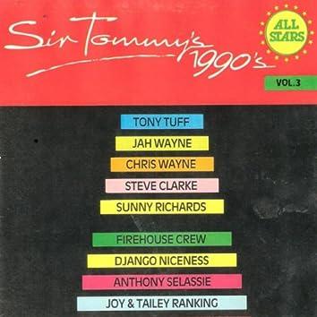 Sir Tommy's 1990's All Stars Vol. 3