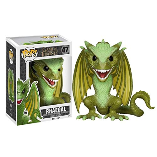 C S Daenerys Dragon Rhaegal POP afbeelding van de tv-serie Game of Thrones