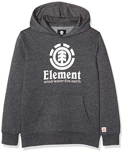 Element Vertical Hood Boy Fleece, Niños, Charcoal Heathe, 14