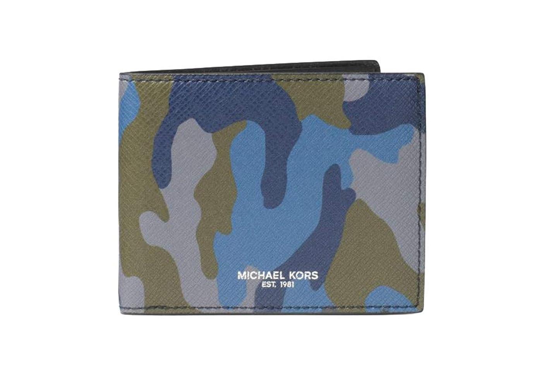 ナビゲーションどのくらいの頻度でシリンダーMichael Kors メンズ ハリソン カモフラージュ 二つ折り財布