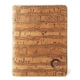 Corkor Slim Wallet for Men, RFID Safe, Vegan Non Leather, Bi-fold Cards Cash, Zebra