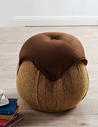 ZHANGRONG- Amerikanisches Drucktuch ringsum weichen Stuhl Sofa Hocker Dressing Bank Schlafzimmer für wechselnde Schuhe Sofa Hocker (Farbe wahlweise freigestellt) --Lagerhocker ( Farbe : B )