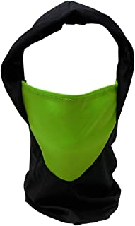 Black Ninja Hood with Face Mask (1-Piece Pack) Assorted Colors | Face Cover For Motorcycle Cycling Bike Bandana, Hiking, Sports & Ninja Costumes Accessory, Pretend Play & Party Supply