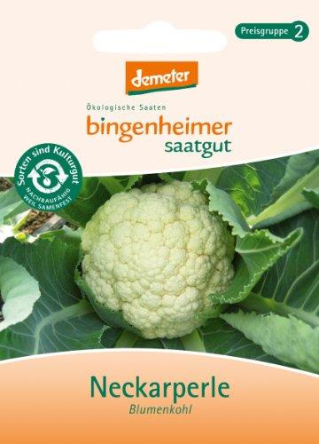 Bingenheimer Saatgut - Blumenkohl Neckarperle (Saatgut) - 1 Tüte