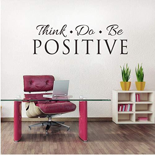 Lovemq 27 * 88 Cm Think Do Be Letras Adhesivas Adhesivas Decorativas...