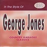GEORGE JONES Country Karaoke Classics CDG Music CD