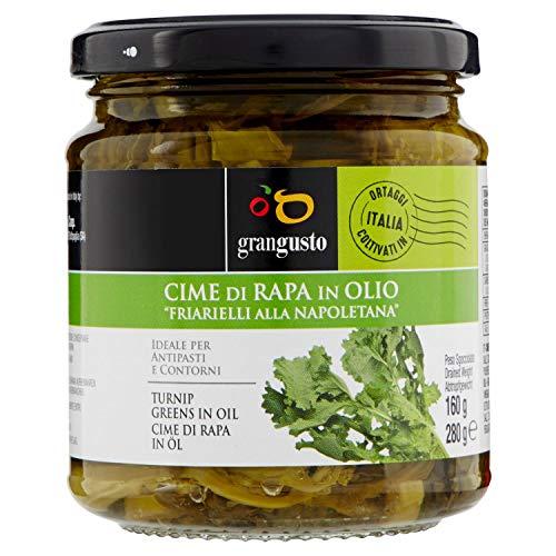 Cime di rapa - Friarielli alla napoletana in olio ''grangusto'' g confezione da