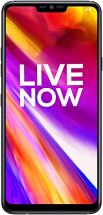 LG G7 ThinQ (Aurora Black, 4GB RAM, 64GB Storage)
