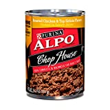 Purina ALPO Wet Dog Food, Chop House Roasted Chicken & Top Sirloin Flavors - (12) 13.2 oz. Cans