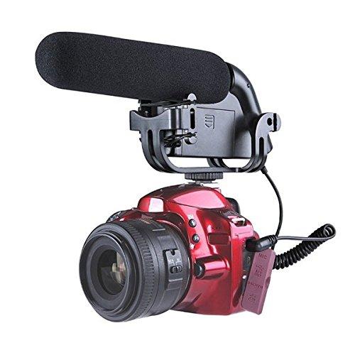 BOYA BY-VM190P Stereo Video DSLR Camera DV Audio Recorder Shotgun Microphone