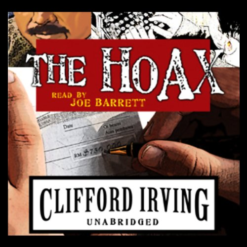 The Hoax audiobook cover art