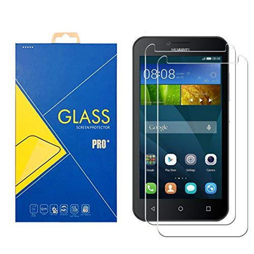 [2 Pack] Panzerglas Schutzfolie Huawei Ascend Y5 - Gehärtetem Glas Schutzfolie Bildschirmschutzfolie für Huawei Ascend Y5