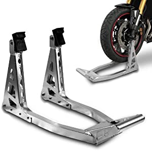 Motorcycle Paddock Stand ConStands Superlight Front for Kawasaki KLE 500  KLR 650  KLV 1000  KLX 125 250  650  Ninja 250 Versys 1000 650  650 800  1000  SX  750  R S