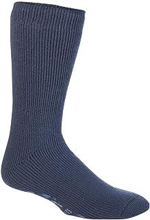 Heat Holders - Mens Thick Non Slip Winter Thermal Indoor Gripper Slipper Socks