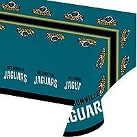 Jacksonville Jaguars Plastic Tablecloths, 3 ct [並行輸入品]