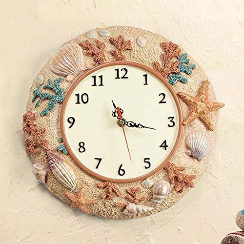 TRNMC Tisch, Uhr, Uhr, Geschenk, Uhr, Haushalt, Uhr, Wohnzimmer, Einfache Uhr, Wanduhr, Wohnzimmer, europäische Quarzuhr, Uhr, Wanduhr, Doppelseitige Uhr, Uhr,Schokolade