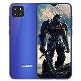 CUBOT X20 Smartphone ohne Vertrag, 4GB RAM/64GB ROM, 128 GB erweiterbar, 4G Dünn Handy, 6.3 Zoll FHD Bildschirm, 4000mAh Akku, 3 Kameras, Dual SIM, Android 9.0 Pie, Face-ID, Deutsch Version, Blau
