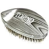 Torino Pro Wave Brushes by Brush king #74- Medium Hard Pointy Curved 360 Waves brush