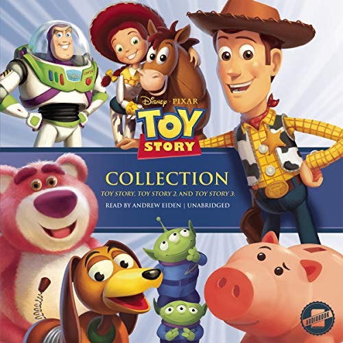 The Toy Story Collection     Toy Story, Toy Story 2, and Toy Story 3              By:                                                                                                                                 Disney Press                               Narrated by:                                                                                                                                 Andrew Eiden                      Length: 6 hrs and 20 mins     Not rated yet     Overall 0.0
