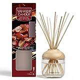 Yankee Candle diffusore a bastoncini | Mele Croccanti sul Fuoco | 120 ml | Durata della fragranza: fino a 10 settimane