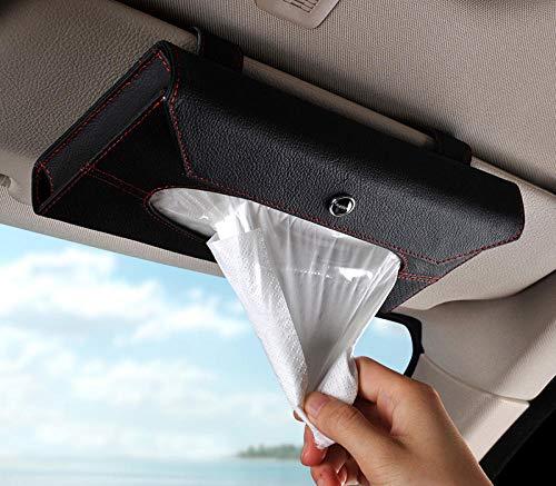ZHEG Tissue Box Pumping Car Sonnenblende Hängende Papierkassette