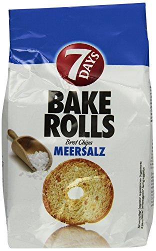 7Days Bake Rolls Meersalz, 8er Pack (8 x 0.25 kg)