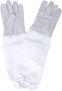 Onior プレミアム養蜂用手袋1組実用的な蜂手袋初心者のための手の保護