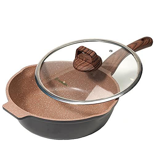 5 quart frying pan nonstick - 4