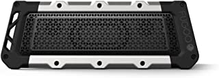 FUGOO Style XL- Portable Rugged Waterproof Wireless Bluetooth Speaker 35 Hrs Battery Life with Built in Speakerphone (Sand/Black) Tough XL Black
