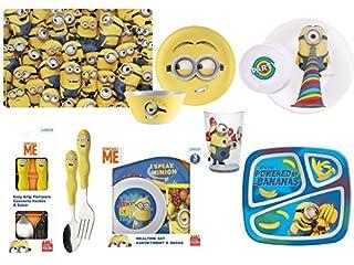 شراء Zak Designs DESD-0320 Minions 6-inch Plastic Soup Bowl (25 oz.), Lance