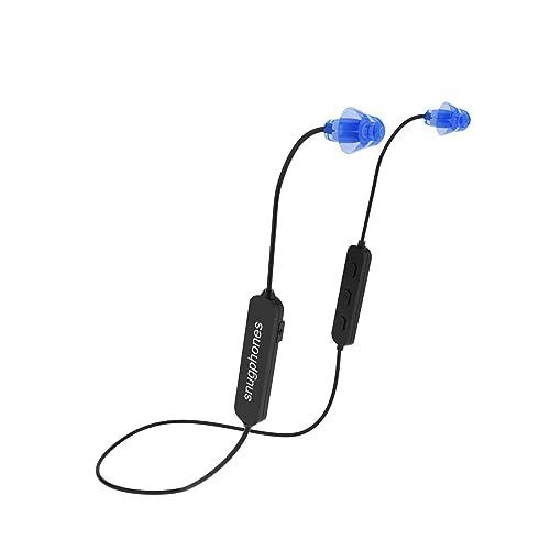 a1c17e30b51 Snug Phones wireless silicon BLUETOOTH ear plug headphones. Noise  cancelling IPX6 waterproof heavy duty cord