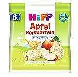 HiPP Apfel Reiswaffeln, ab dem 8. Monat, 7er Pack (7 x 30 g) -