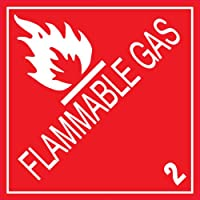 Ace Label 44202F Label - Flammable Gas