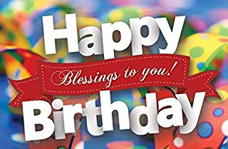Postcards - Happy Birthday - All Ages - Happy Birthday Blessings To You! (Pkg. of 25) ...