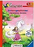 Einhorngeschichten - Leserabe 1. Klasse - Erstlesebuch für Kinder ab 6 Jahren (Leserabe mit Mildenberger Silbenmethode) - Katja Königsberg