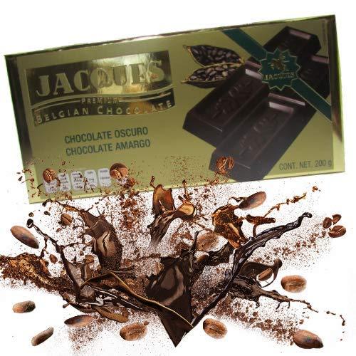 Jacques Premium - Belgian Dark Chocolate / Chocolate Amargo - Importado da Bélgica - 200g