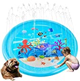 Sprinkler Pad Splash Play Mat 170cm Outdoor Water Toys, Outdoor Splash Pad Sprinkler