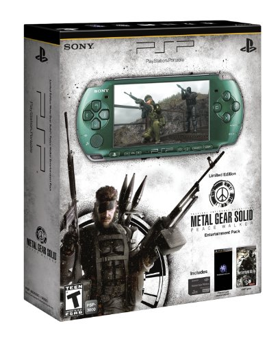 Sony PSP Metal Gear Solid Entertainment Pack - juegos de PC (AVCHD, H.264, MPEG4, MP3, PCM, JPG, PSP CPU, MS Duo, 2 GB) Verde