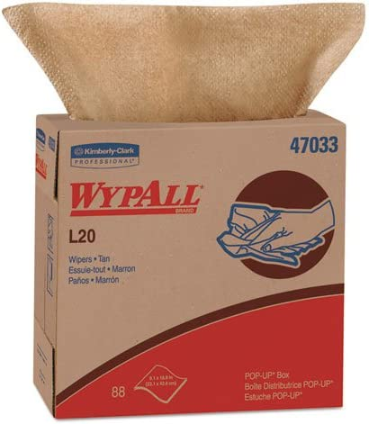 KCC47033 - WypAll L20 Kimtowels Wipes 16 Ranking TOP20 9quot; 4 5quot; x New popularity