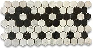 Best white hexagon tile with black border Reviews